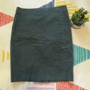 J. Crew Corduroy Skirt